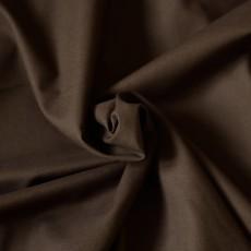tissu toile de coton fine marron