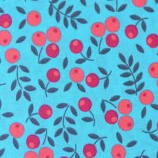 Tissu à fleurs coton popeline au mètre