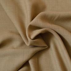 Tissu au mètre toile rustique beige