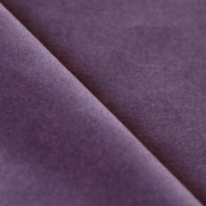Tissu velours de coton violet aubergine