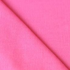 Tissu velours côtelé babycord rose bonbon 100% coton