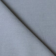 Tissu voile de coton bio gris souris C.Pauli