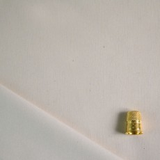 Jersey de coton bio enduit pour couches lavable écru