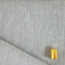 Tissu impression argent