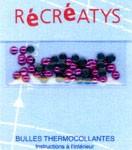Demi-perles 4 mm thermocollantes