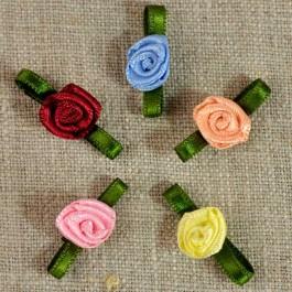 Petite rose satin