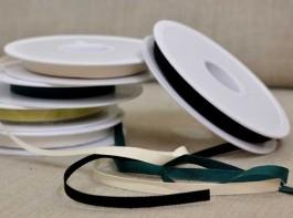 Rouleaux 20 m ruban sergé chevron largeur 6 mm