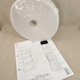 Rouleaux élastique maille 4 à 60 mm blanc cassé ou noir