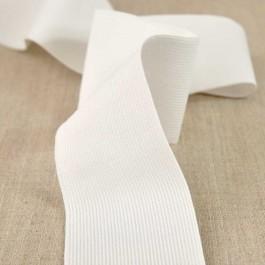 Elastique maille de 4 à 60 mm blanc cassé ou noir