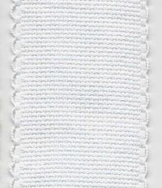 Galon à broder blanc 5 cm