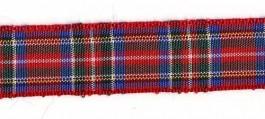 Ruban de taffetas écossais tartan