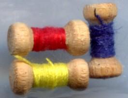 Mini bobines bois (charm)