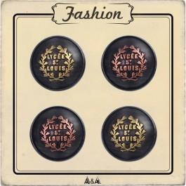 bouton métal cuivre et bronze lycée st louis