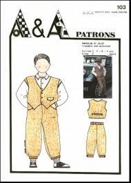 Trousers and waistcoat P103