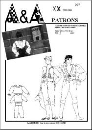 Matador's and corsair's costume P307