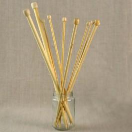 Aiguilles à tricoter en bambou du n° 2 au 10