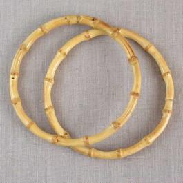 Anses de sac rondes en bambou