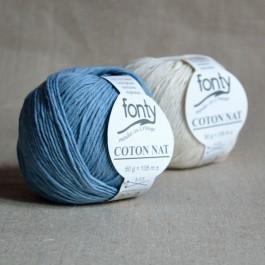 Coton nat bio Fonty