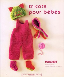 """Livre de modèles à tricoter pour bébés """"tricots pour bébés"""""""