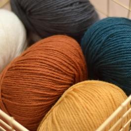 Laine mérinos Ambiance de Fonty à tricoter douce et naturelle