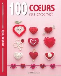 Livre 100 coeurs au crochet