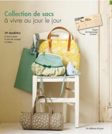 Livre collection de sacs à vivre au jour le jour