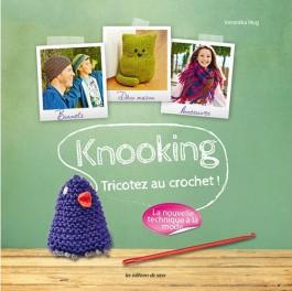 Livre Knooking, tricotez au crochet