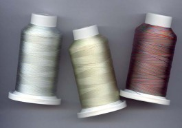 Lot des 18 bobines de Fil Sulky 40 multicolors