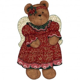 "Kit couture nounours ""Christmas Angel"""