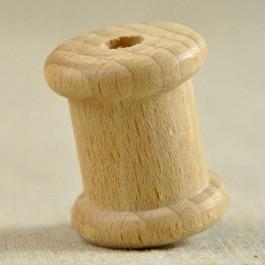 Petite bobine bois naturel