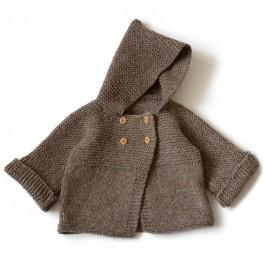 Modèle à tricoter du paletot Jonas en Fado 3-24M