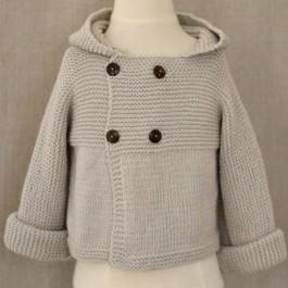 Modèle patron Jonas tricoté en Mérina