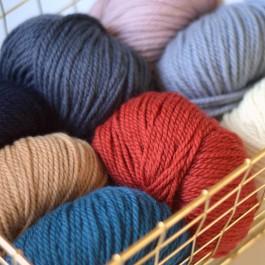 Pelote laine Numéro 5 merinos Fonty naturelle française