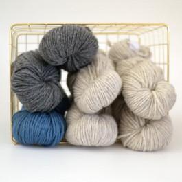 Echeveau laine Olan filature du Valgaudermar