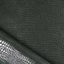 Simili cuir noir crocodile