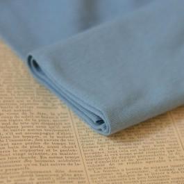 Bord-côte bleu clair coton biologique