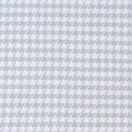 Tissu flanelle carreaux pied de poule vert menthe