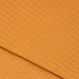 Tissu moutarde en coton bio à coudre