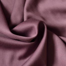 coupon lainage tissu au mètre luxe parme