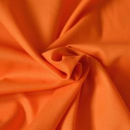 Tissu 100% coton orange au mètre