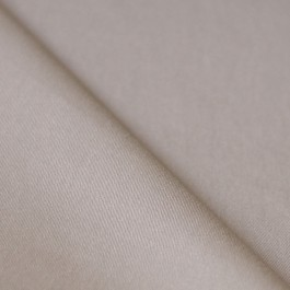 Tissu sergé coton stretch beige pour couture pantalon