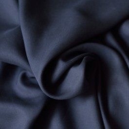 Tissu lyocell bleu marine au mètre