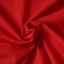 Tissu voile de coton rouge au mètre