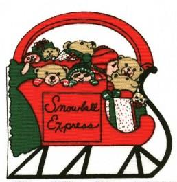 Sac traineau de Noël