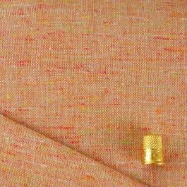 Tissu chiné rayé