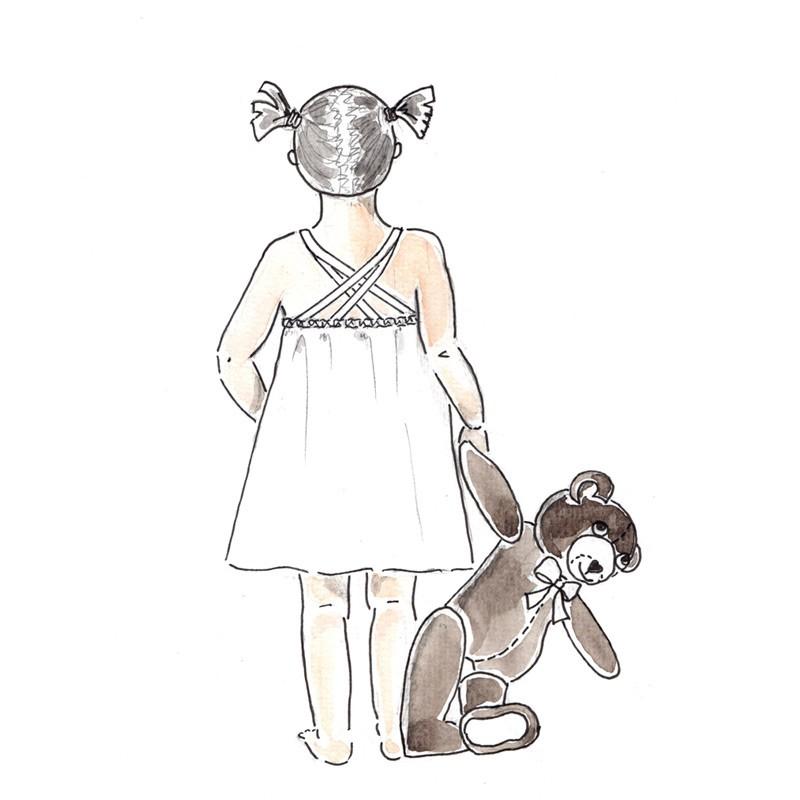 Patron Couture Robe Tamatia 2 10 Ans A A Patrons