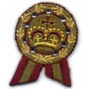 Ecusson couronne royale
