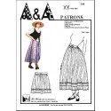Dress and petticoat from the country Provence P208