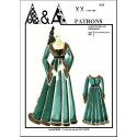 Middle ages dress  P903