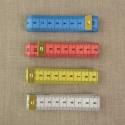 Mètre ruban 4 couleurs